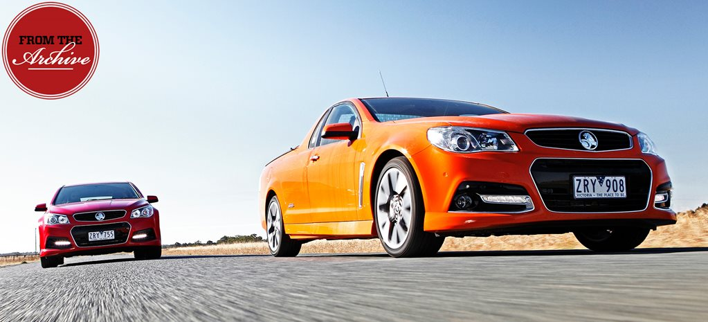 2013 Holden VF Commodore Evoke, SV6 Sportwagon and SS-V Ute compared