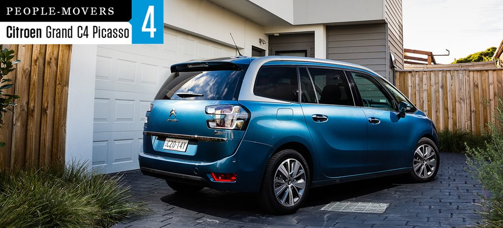 Seven seater comparison review: Citroen Grand C4 Picasso