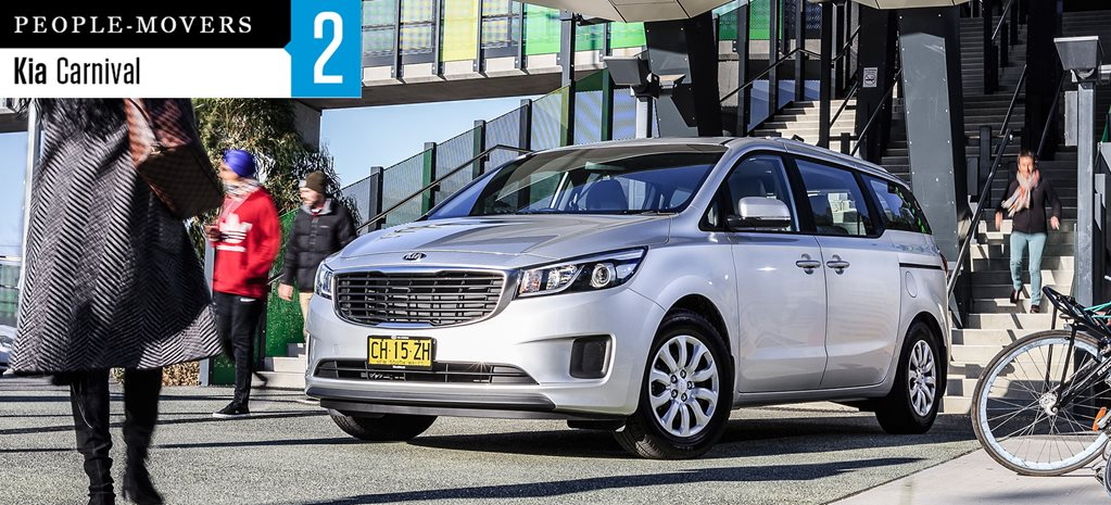 Seven seater comparison review: Kia Carnival S