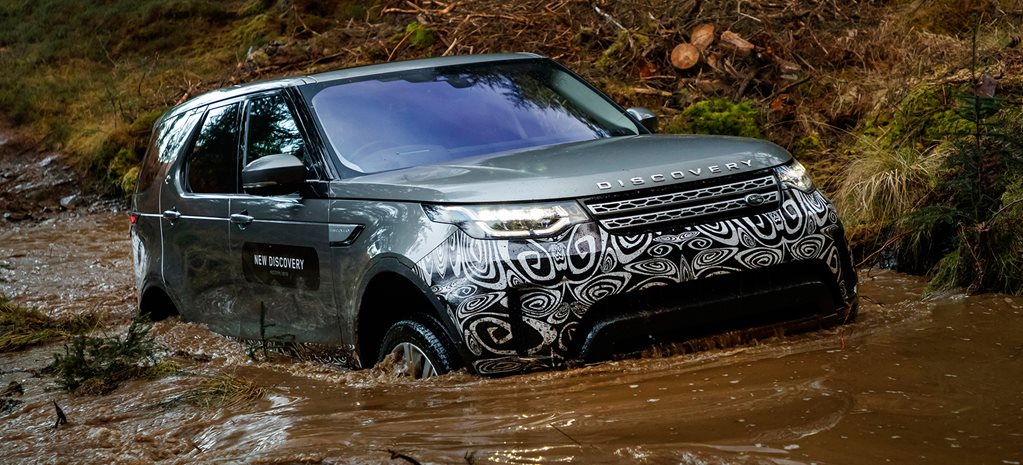 2017 Land Rover Discovery Prototype review