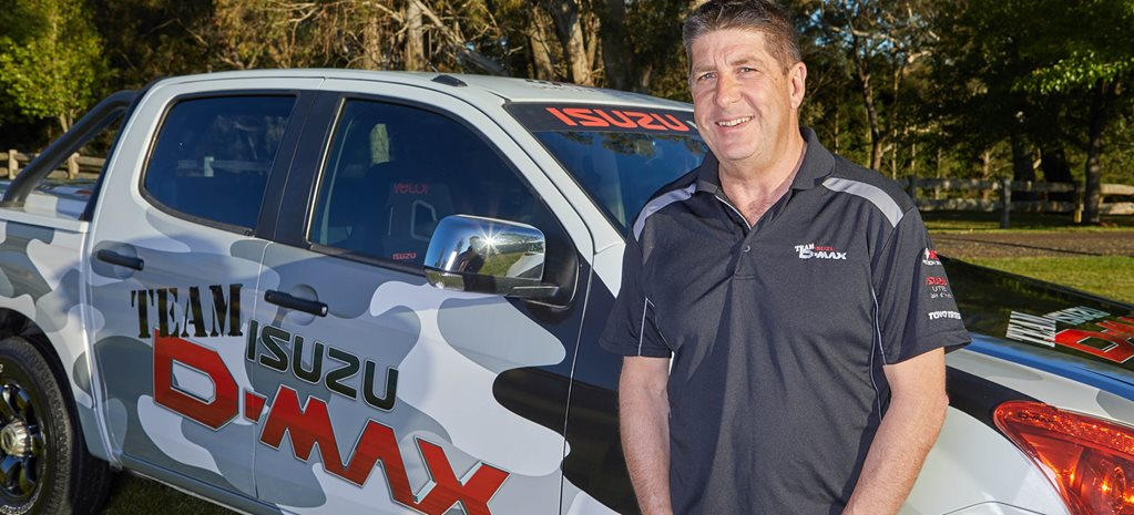 Wayne Boatwright: Isuzu Team D-Max precision driving team