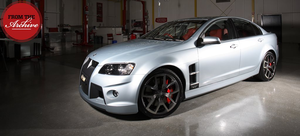 Archive: 2008 HSV W427 revealed