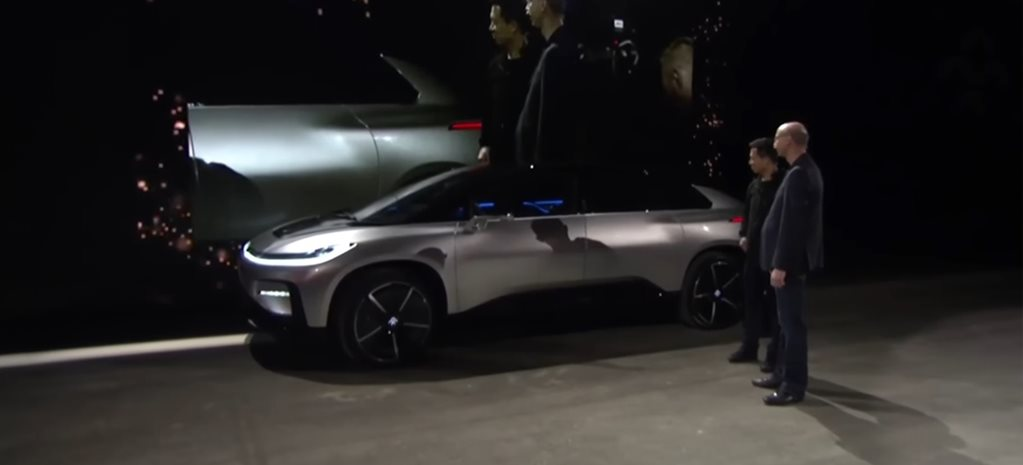 VIDEO: Faraday Future's incredibly awkward parking fail at CES
