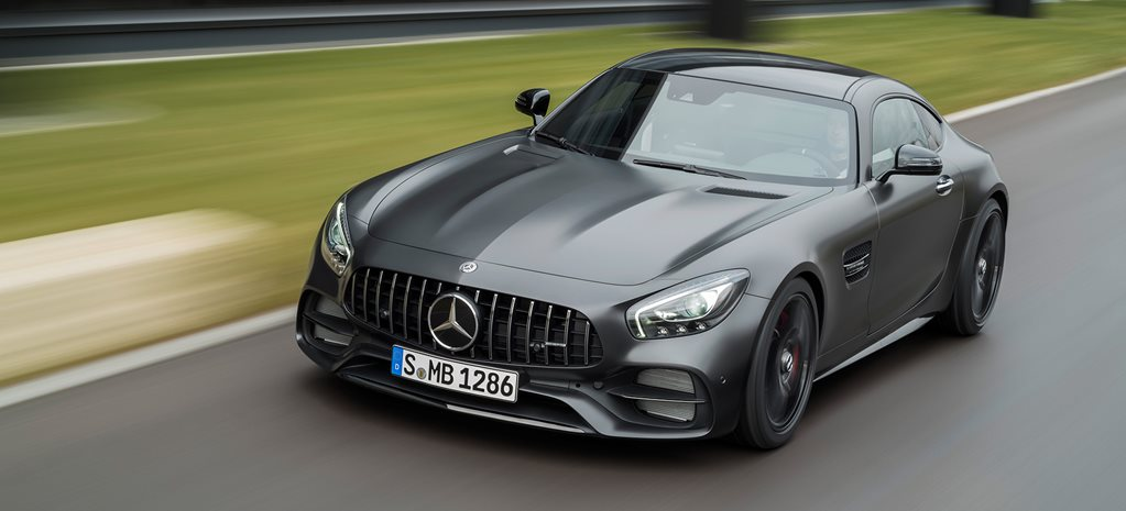 2017 Mercedes-AMG GT C Edition 50 coupe revealed