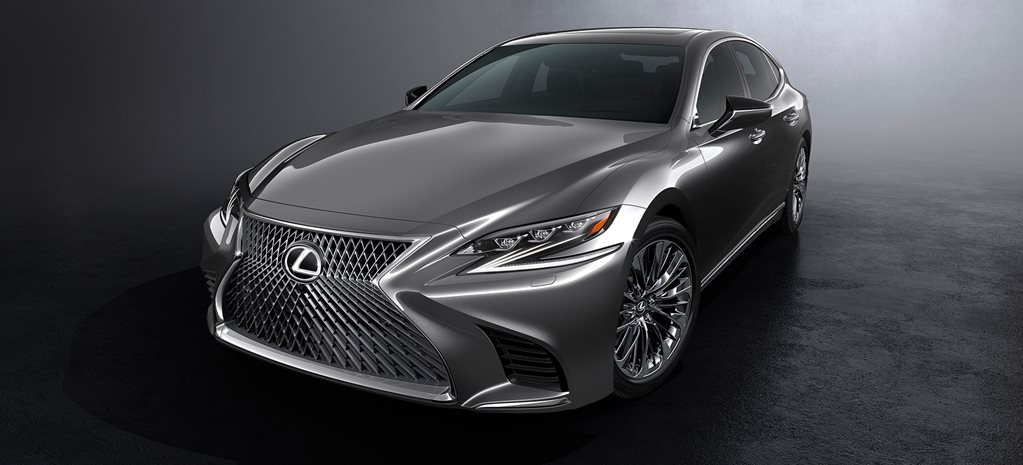 2017 Detroit Motor Show: 2018 Lexus LS revealed