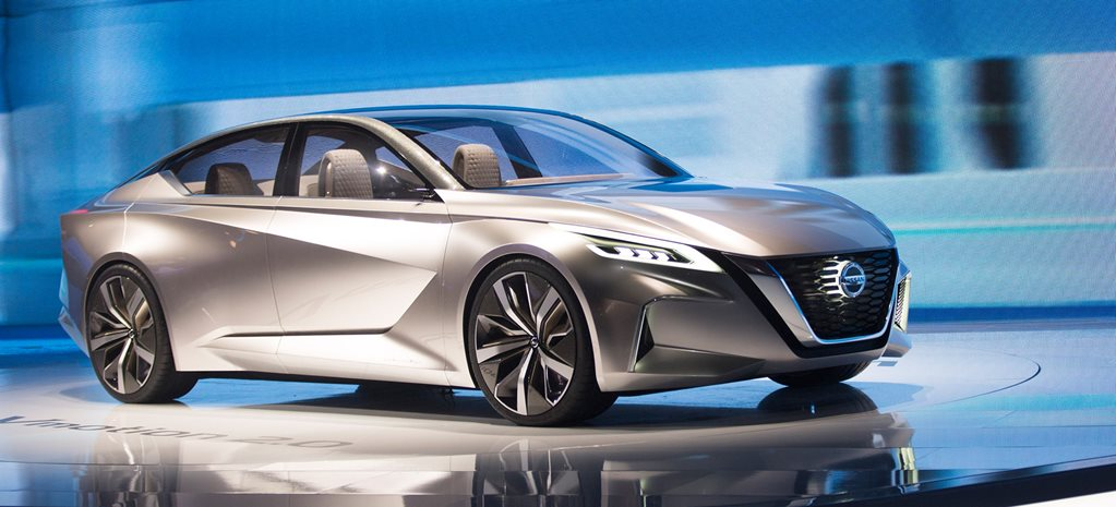 2017 Detroit Motor Show: Nissan Vmotion 2.0 Concept previews future sedan direction