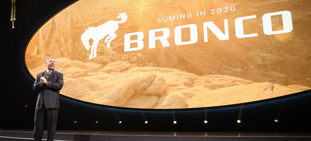 2017 Detroit Motor Show: Ford Bronco SUV confirmed for 2020