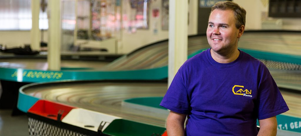 Cody Bramble: Slot car racing