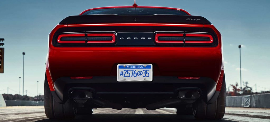 Dodge Demon to ride on barely legal drag rubber