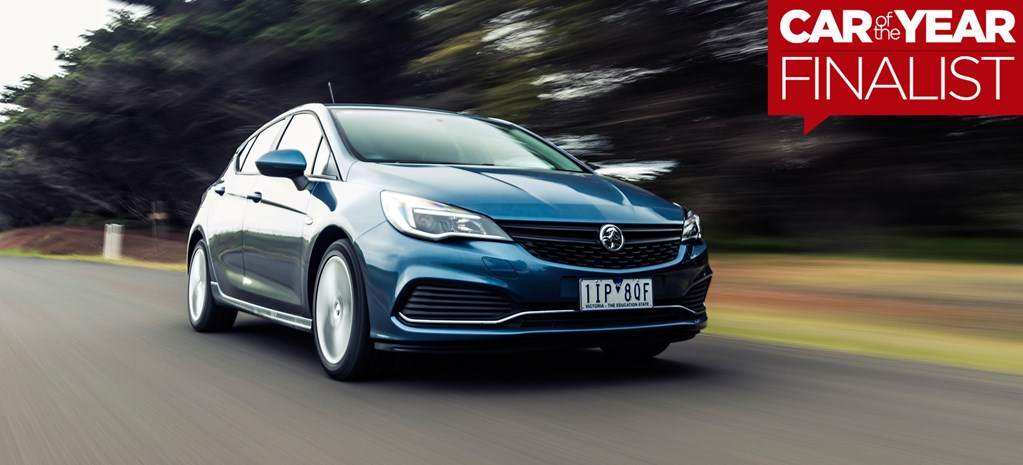Holden Astra: 2017 Car of the Year Finalist
