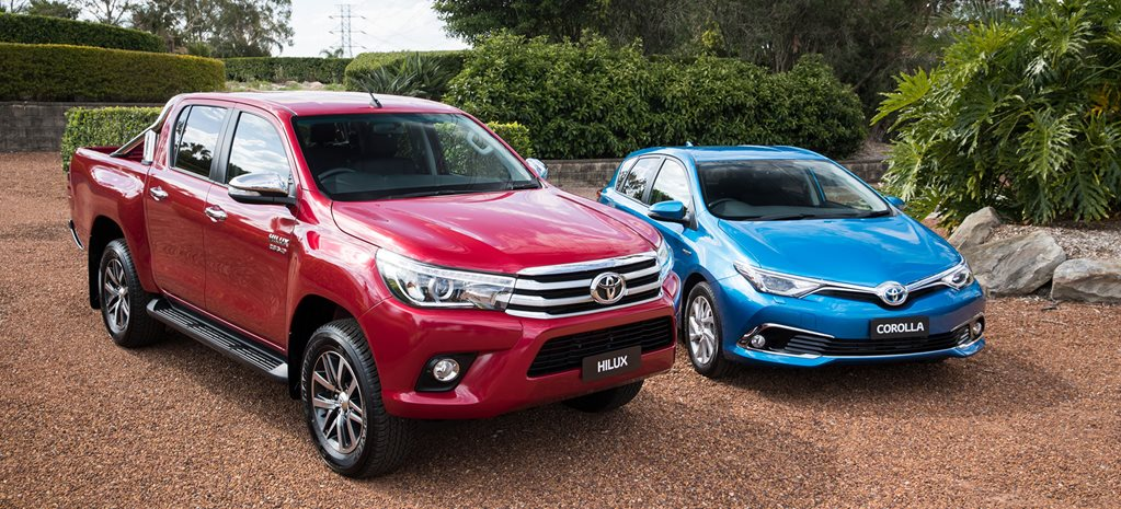 Toyota global sales: Australia punches above its weight