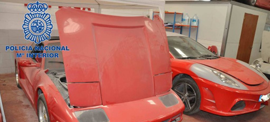 Spanish police bust fake Ferrari ring