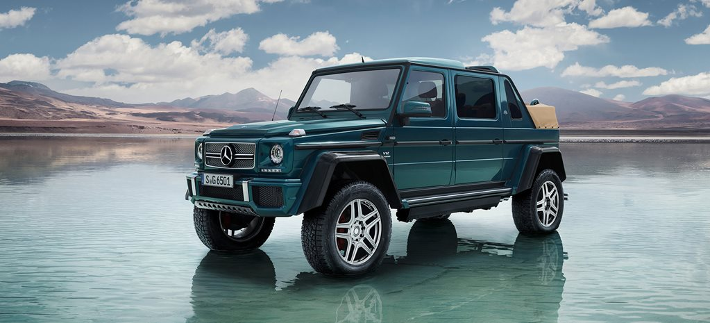 Mercedes-Maybach G 650 Landaulet is the most ridiculous G-Class ever
