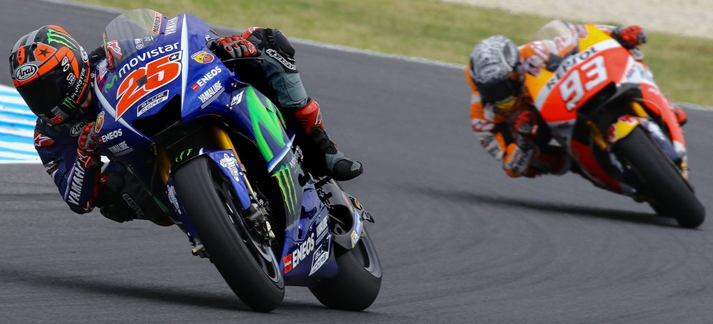 Yamaha's new kid on top in Aussie MotoGP testing
