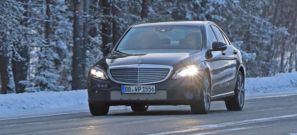 2017 Mercedes-Benz C-Class spied