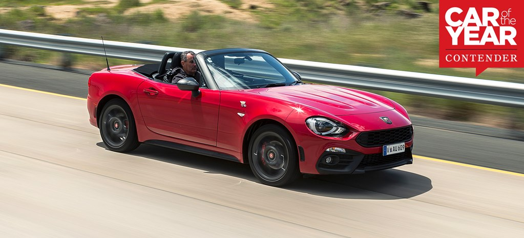 Abarth 124 Spider: 2017 Car of the Year contender