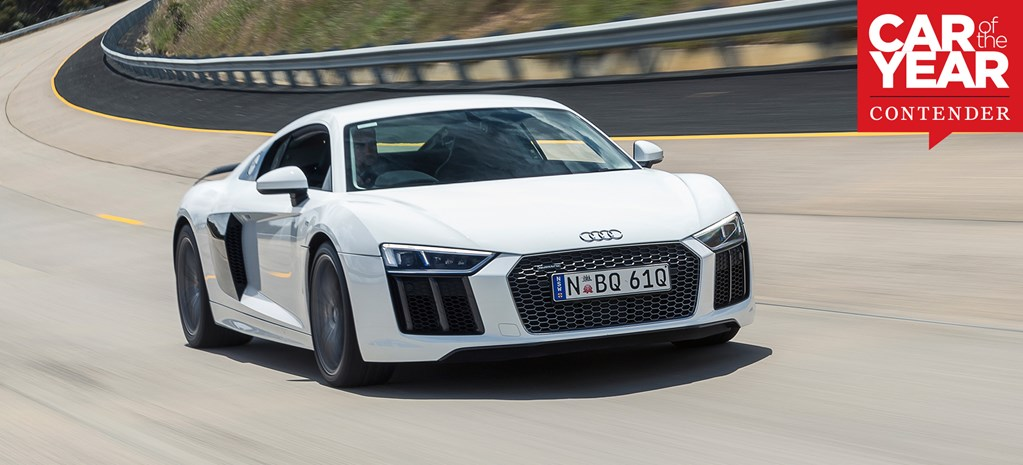 Audi R8: 2017 Car of the Year contender
