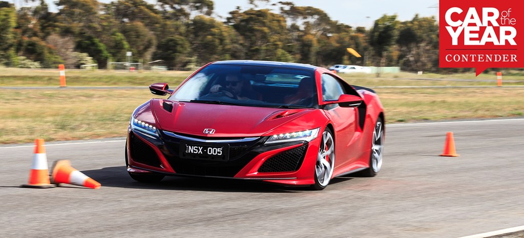 Honda NSX: 2017 Car of the Year contender