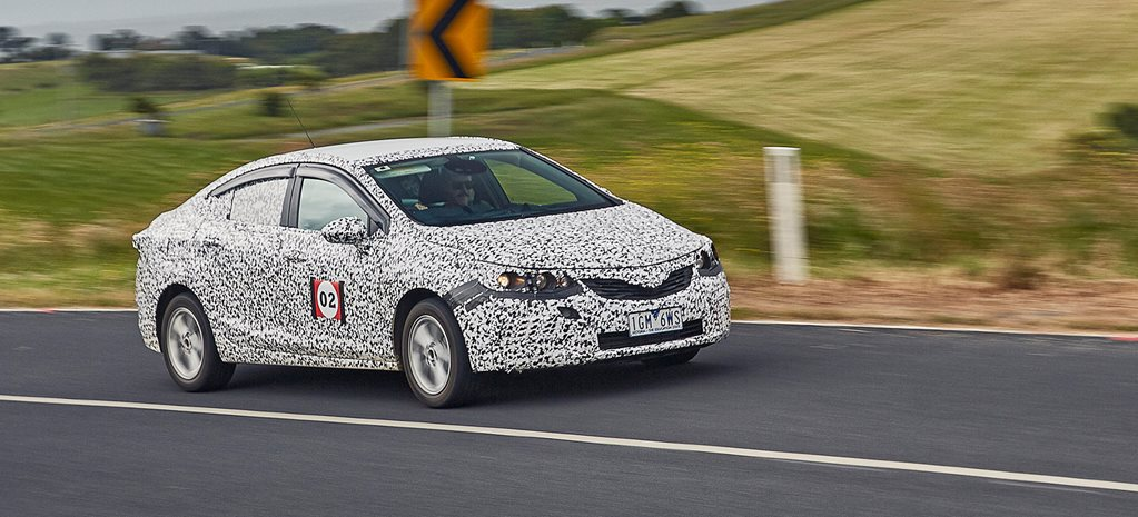 2017 Holden Astra sedan prototype review