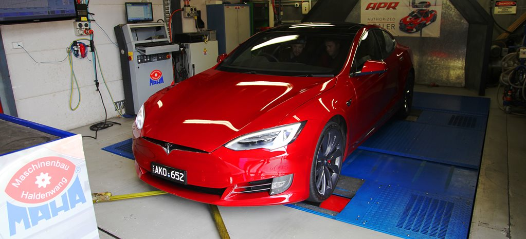 Tesla Model S P100D hits the dyno, spits out incredible torque: video
