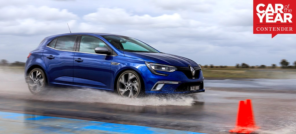 Renault Megane at 2017 Car of the Year