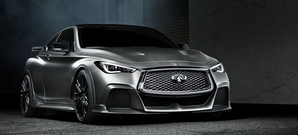 2017 Geneva Motor Show: Infiniti Q60 Project Black S revealed