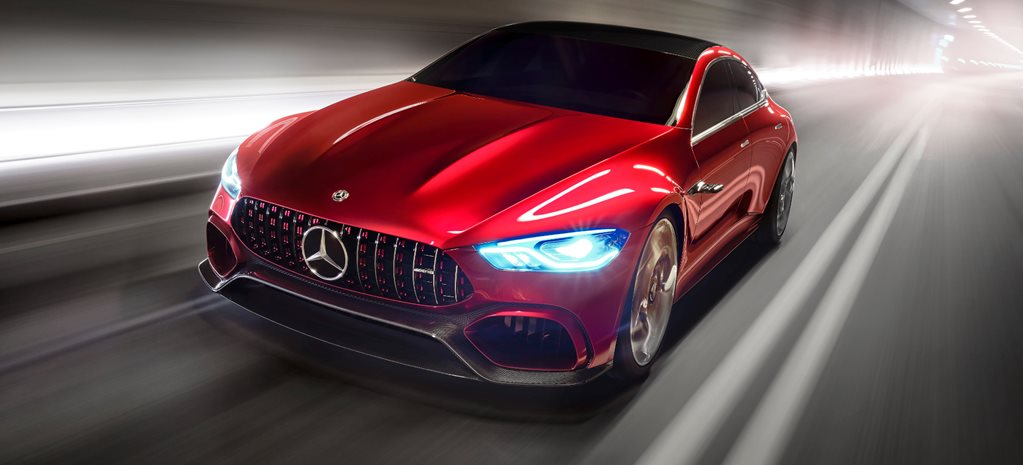 2017 Geneva Motor Show: 600kW GT Concept points to AMG hybrid future