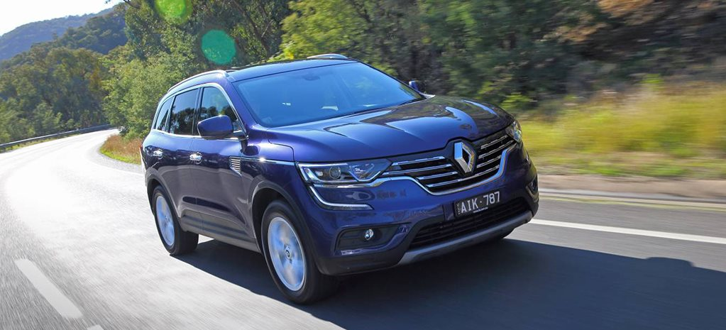2016 Renault Koleos video review