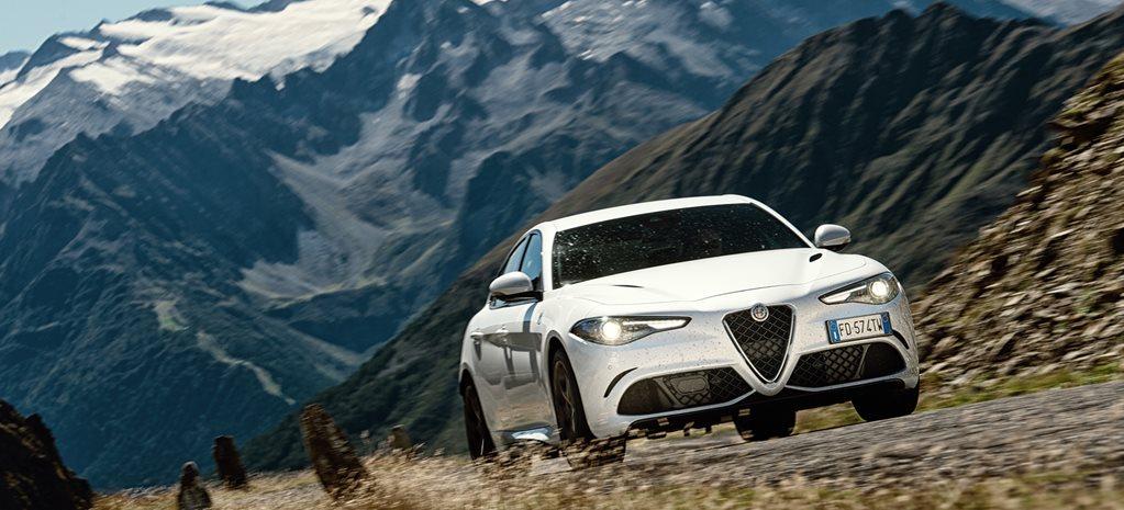 Climbing The Italian Alps In The Alfa Romeo Giulia Qv