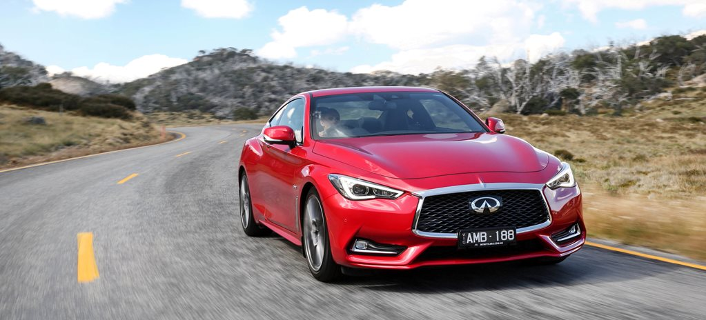 2017 infinit q60 redsport front side action wide