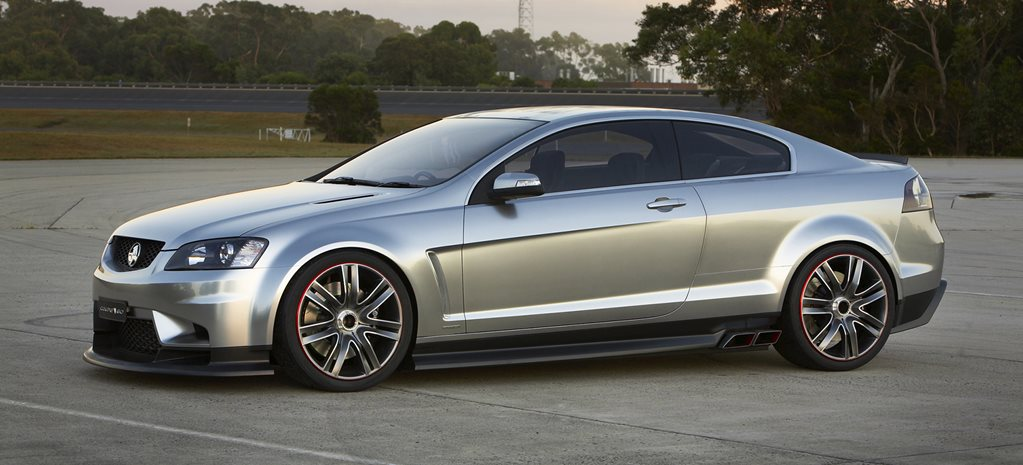 Australia's best concepts: 2008 Holden Coupe 60