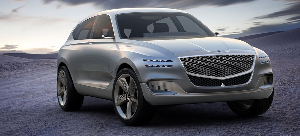Future of Genesis design previewed by GV80 SUV concept - Video