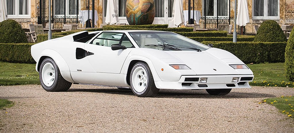 Lamborghini Countach For Sale With Gold Plated Interior