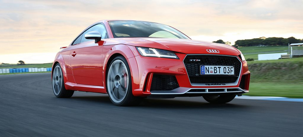 2017 Audi TT RS coupe review