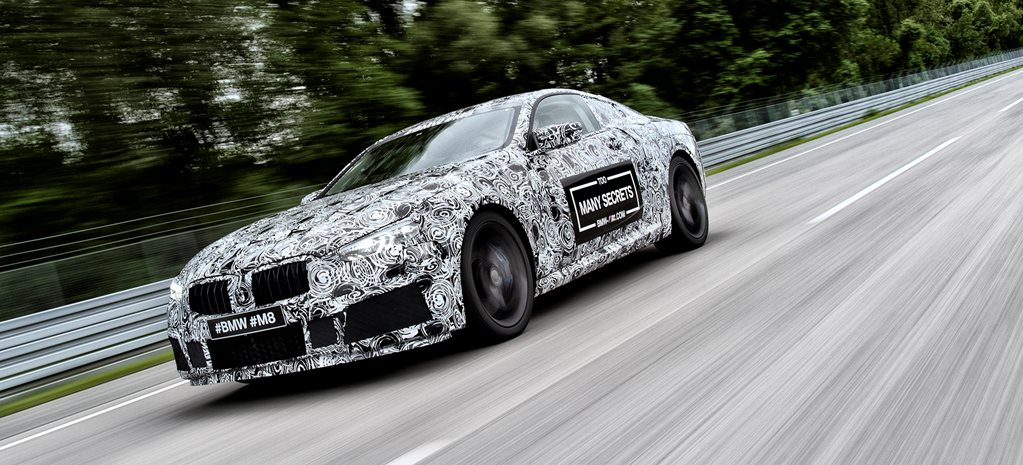 2018 bmw m8 proto front side action w