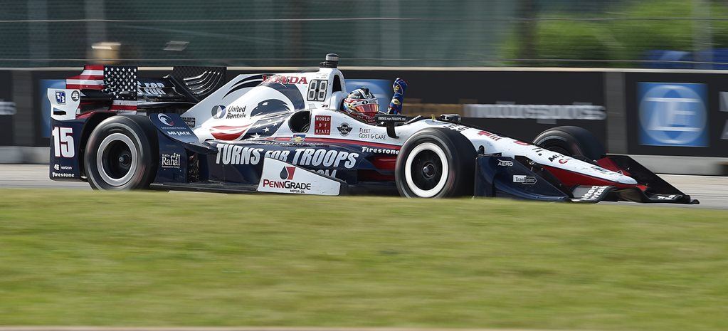 Graham Rahal doubles down in Detroit, while MotoGP puts on a scorcher in Italy