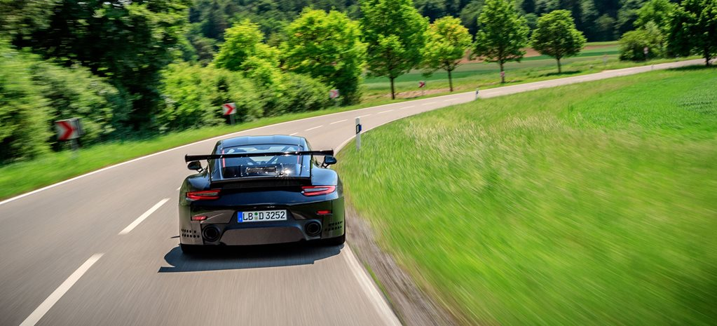 2018 porsche 911 gt2 rs preview rear action