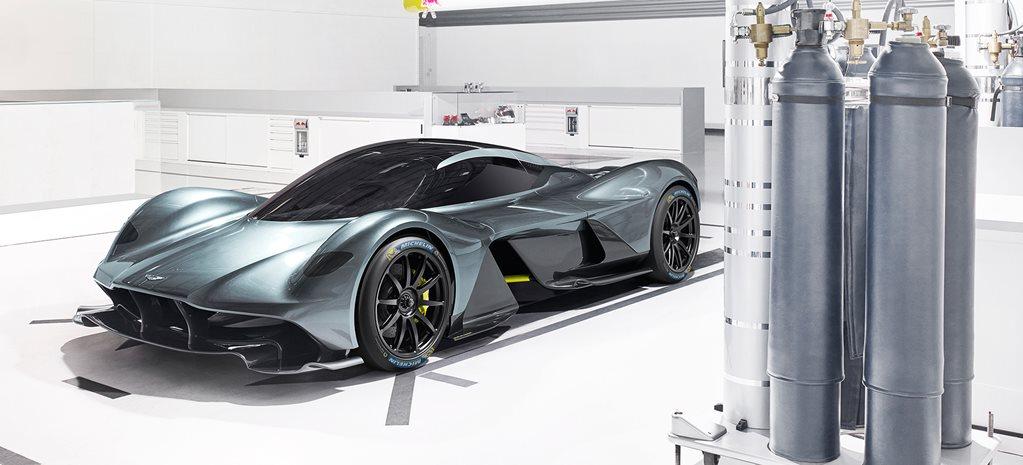 Aston Martin Valkyrie Hypercar Interior Leaked