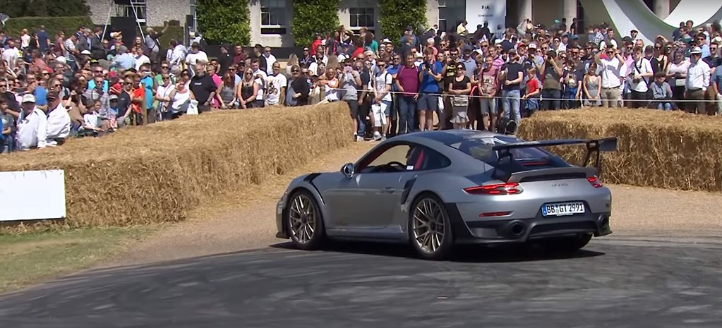 Porsche 911 GT2 RS's embarrassing gaff at Goodwood