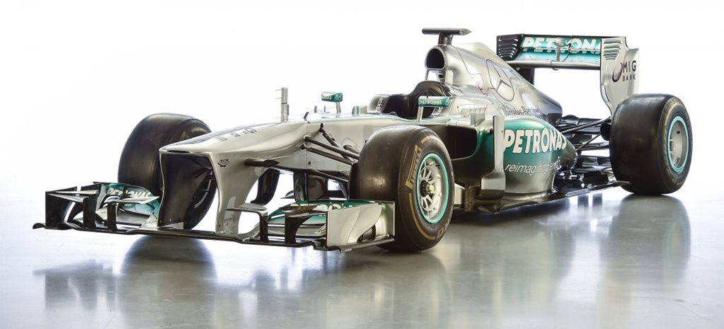 Lewis Hamilton's first Mercedes-AMG Formula 1 car for sale
