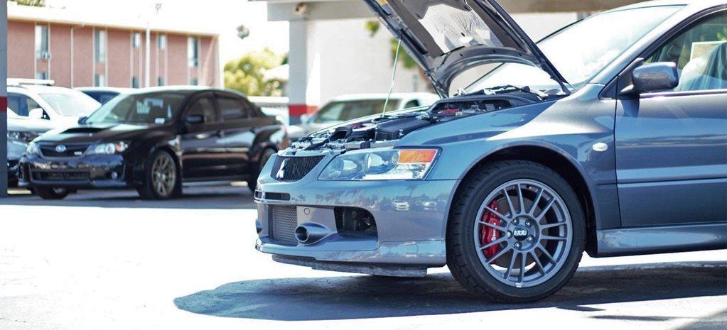 Mitsubishi Evo IX MR with 9 miles on clock sends eBay crazy