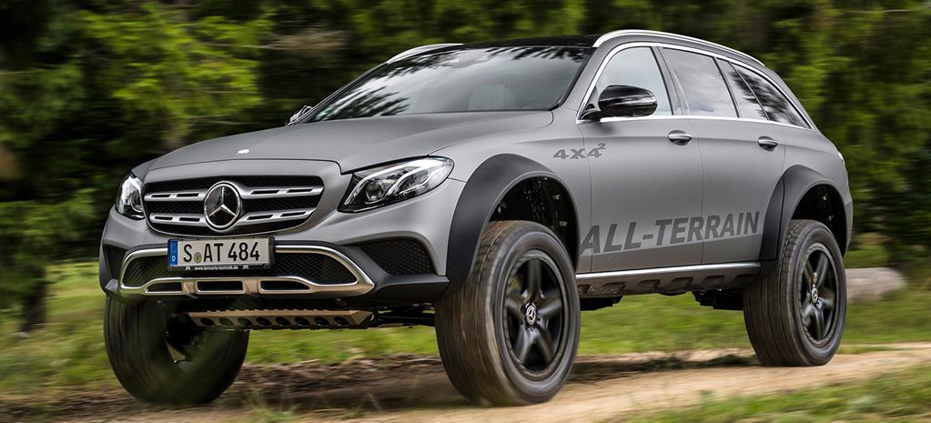 Off Road Wagon >> Mercedes Benz E Class All Terrain 4x4x2 Is The Ultimate Off