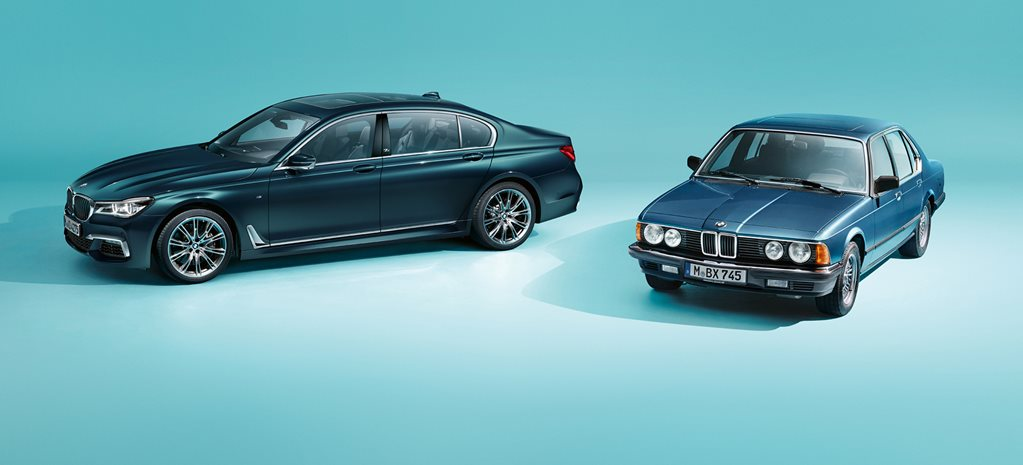 BMW 7 Series celebrates 40 years