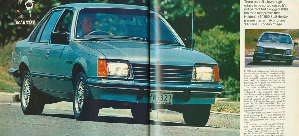 Retro Review: 1978 Holden VB Commodore review