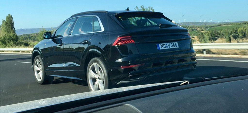 Audi Q8 spied with virtually no disguise