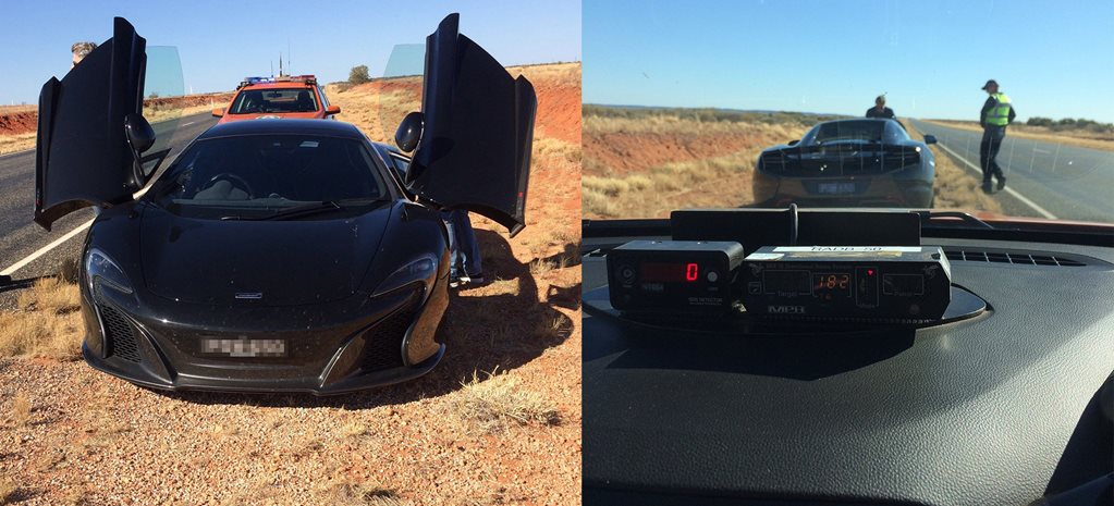 McLaren 650S nabbed doing 182km/h in Northern Territory