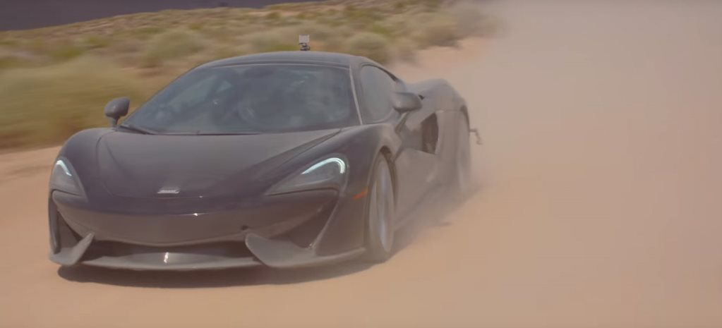 Two legends went rallying in McLaren 570 GTs