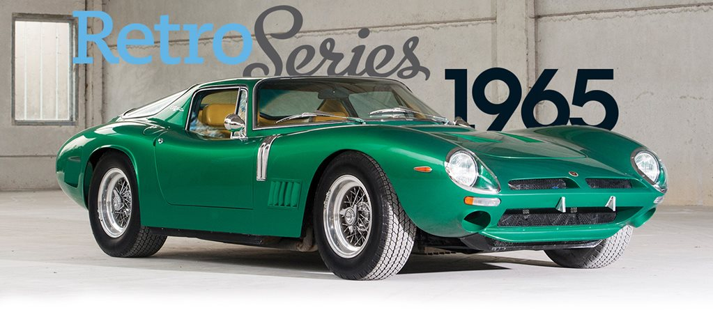 Retro: 1965 Bizzarrini 5200 GT