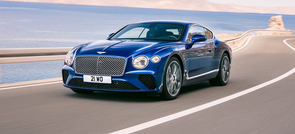 2018 Bentley Continental GT glides out for Frankfurt