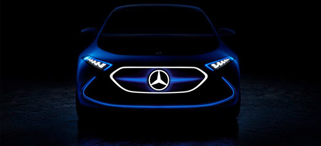2017 Frankfurt Motor Show: Mercedes-Benz teases all-electric hatch
